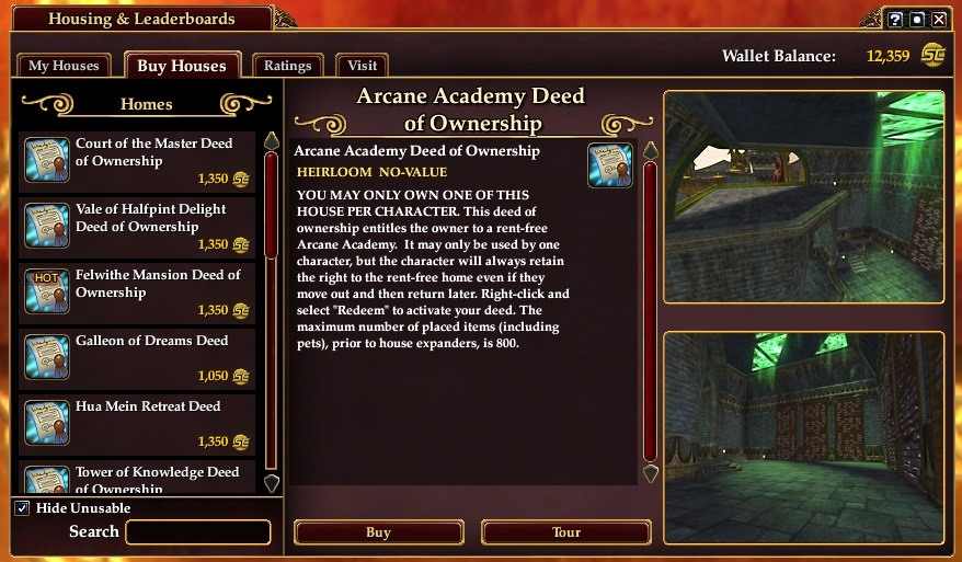 Everquest 2 Ingame Browser
