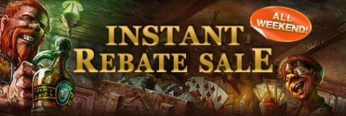 Instant Rebate Sale