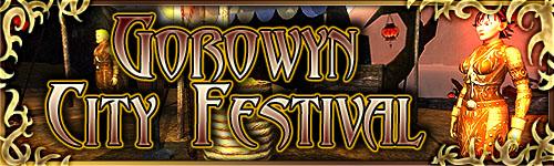 Gorowyn City Festival Banner