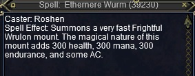 Ethernere Wurm ToolTip