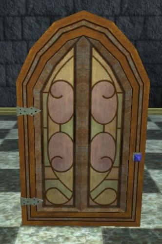Stained Glass Neriak Estates Door
