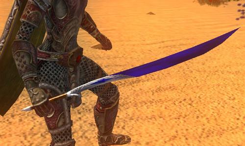 Blue Dust Blade