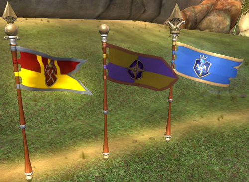 EverQuest II Landmark Flags