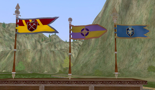 EverQuest Landmark Flags