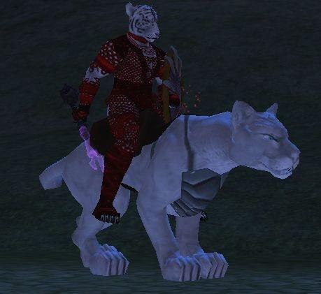 Armored Snow Puma