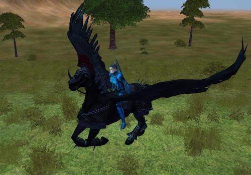 Parade Armored Onyx Skystrider Pegasus