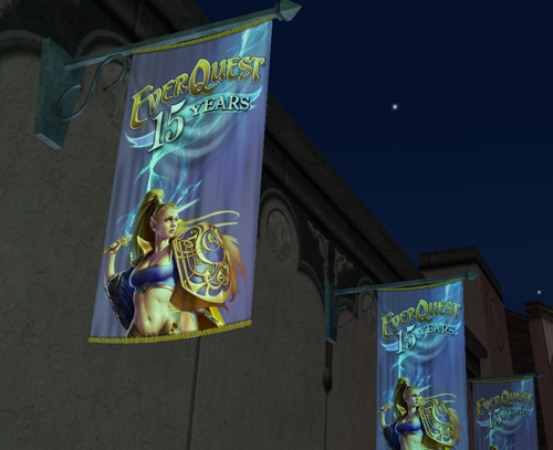 15th Anniversary Banners in PoK