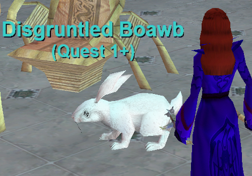 Bunny Disgruntled Boawb