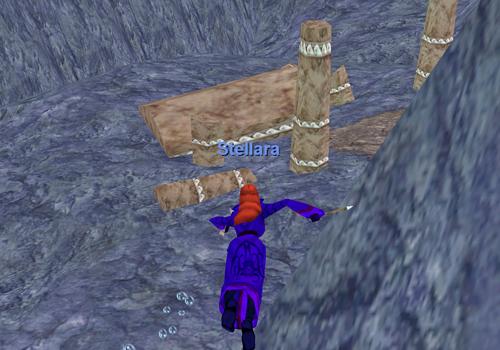 Stellara Explores Sunken Ruins