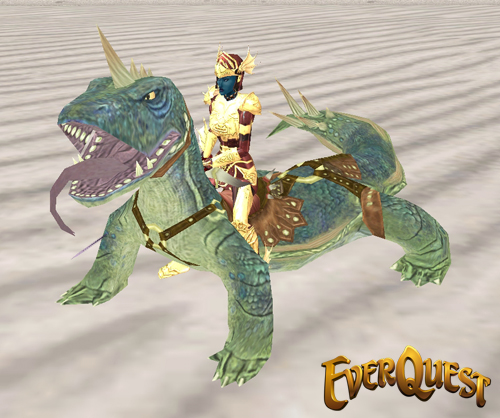 Komodo Dragon Mount