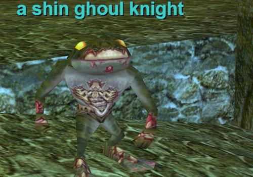 A shin ghoul knight