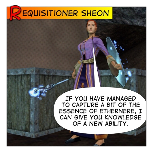 Requisitioner Sheon