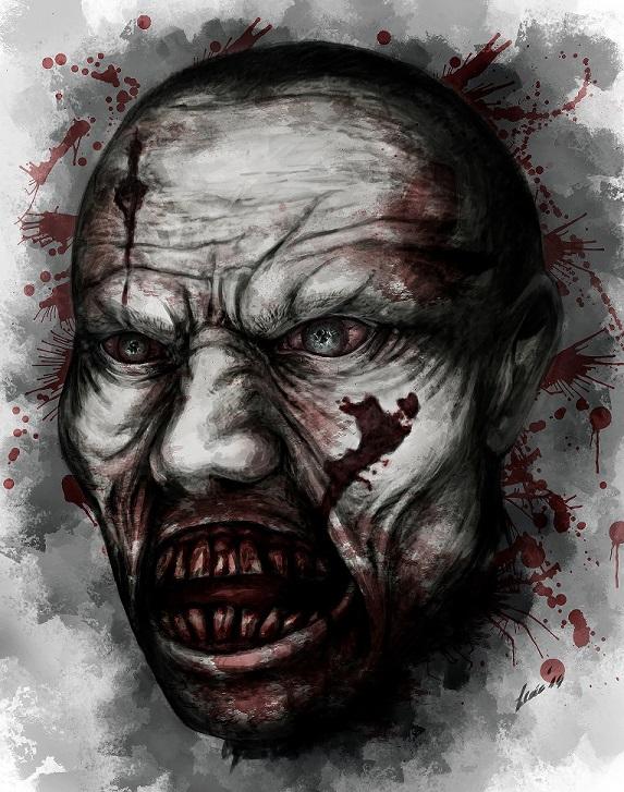 horrifyingly awesome fan art just survive open world zombie survival
