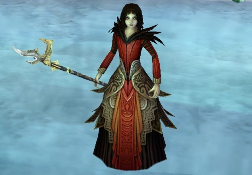 Polymorph Wand - Blood Red Bellikos
