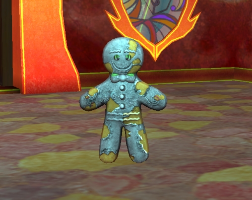 Petamorph Wand - Undead Gingerbread Man