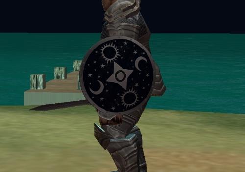 Zapper's Wondrous Shield of Thaumaturgy Ornament
