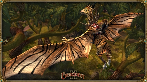 Striped Savage Pterodon Mount