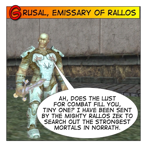 Grusal, the Emissary of Rallos