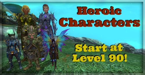 Heroic Characters Level Up to 90! | EverQuest 2 Forums
