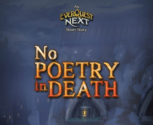 No Poetry In Death
