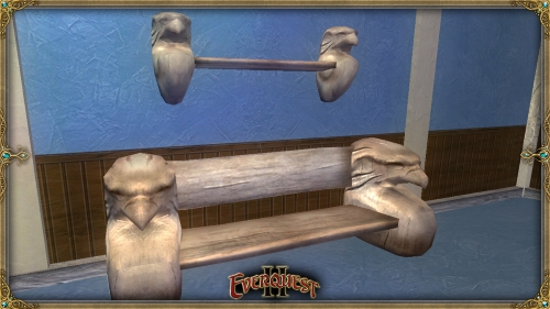 Carved Eagle furniture