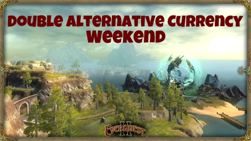 Double Alternative Currency Weekend