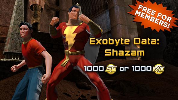 New For Legends Shazam Dc Universe Online