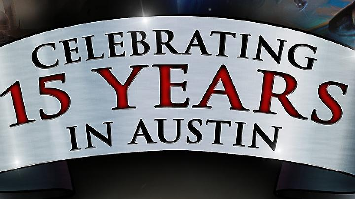 Celebrating 15 Years in Austin
