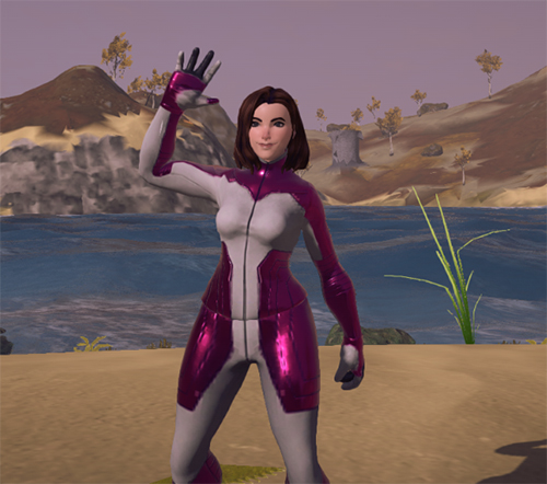 Colonist's Flight Suit (Hot Pink)