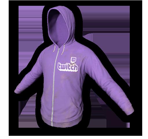 Twitch hoodie skin (rare)
