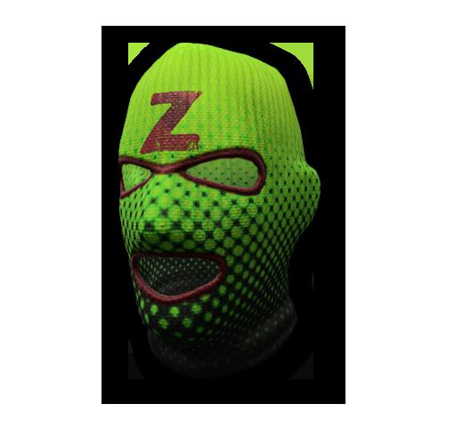 Toxic ski mask skin (rare)