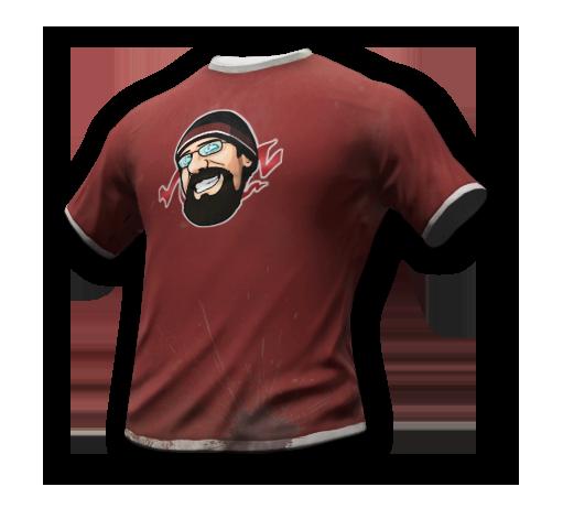 CohhCarnage t-shirt skin