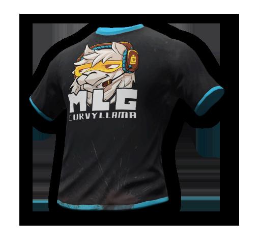 CurvyLlama t-shirt skin