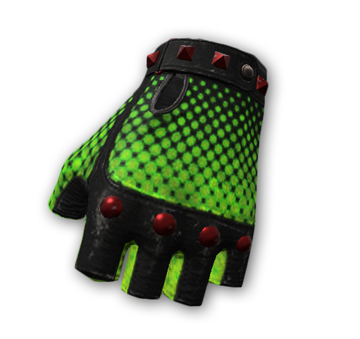 Toxic gloves skin (uncommon)
