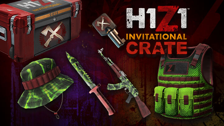581?v=1.0 what else can this crate key do? king of the kill massively,Invitational H1z1 Crate
