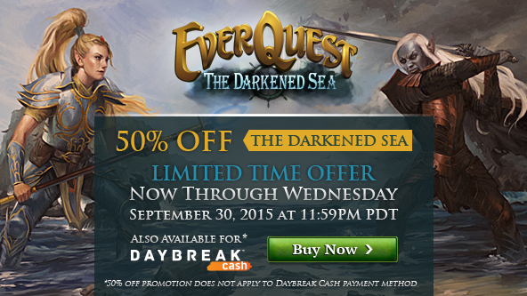 The Darkened Sea Expansion Sale