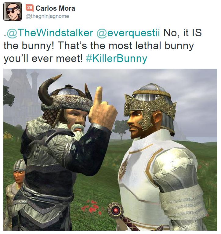 Killer Rabbit Tweet 3