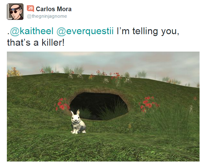 Killer Rabbit Tweet 5