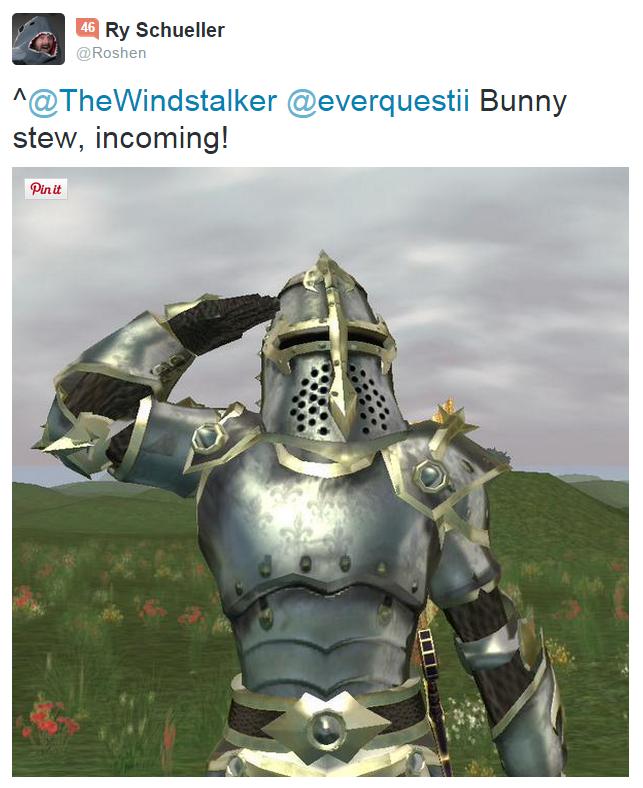Killer Rabbit Tweet 7