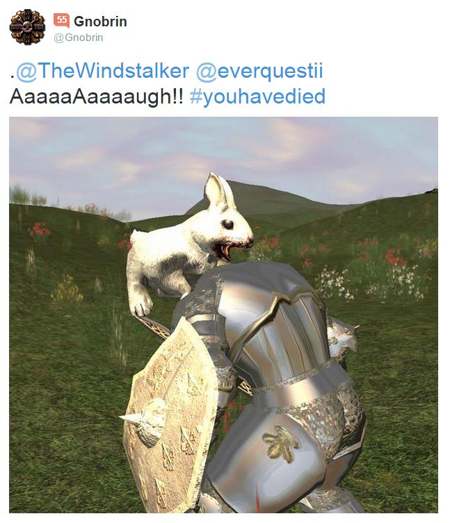 Killer Rabbit Tweet 14