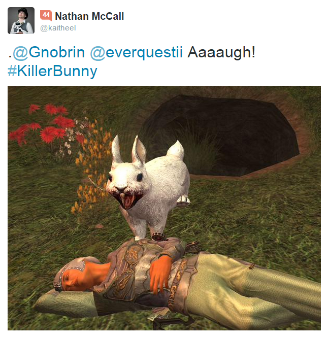 Killer Rabbit Tweet 15