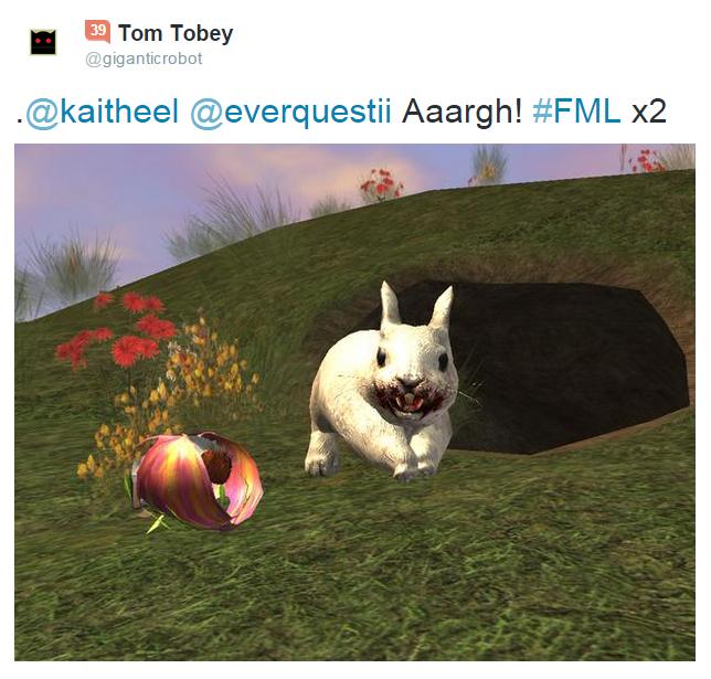 Killer Rabbit Tweet 16
