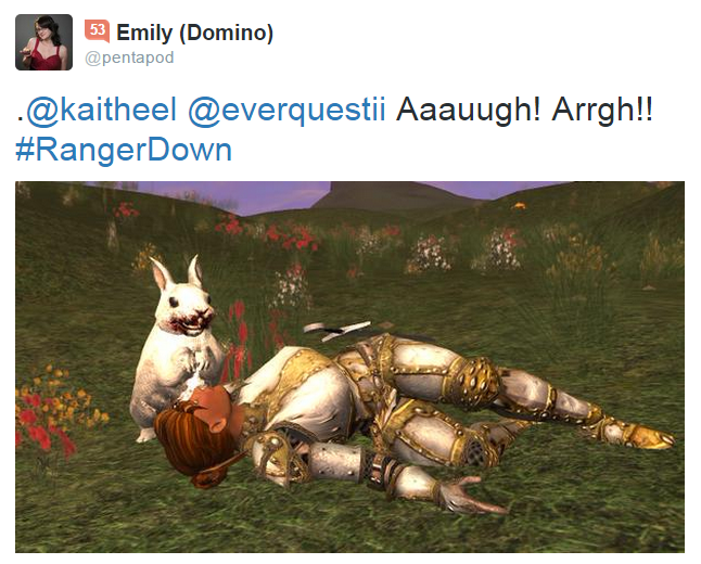 Killer Rabbit Tweet 17