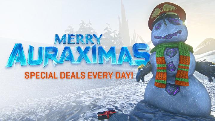 25 Days of Auraximas Specials!