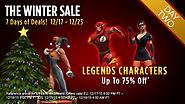 The Winter Sale: Day Two - Legends Characters!