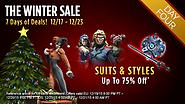 The Winter Sale: Day Four - Suits & Styles!