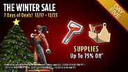 The Winter Sale: Day Five - Supplies!