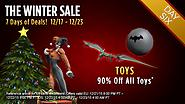 The Winter Sale: Day Six - Toys!