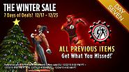 The Winter Sale: Day Seven - It's ALL Back!