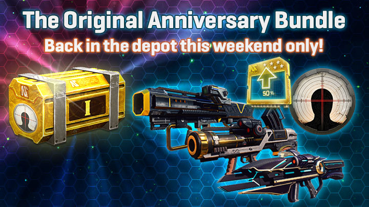 The First Anniversary Bundle is Back!